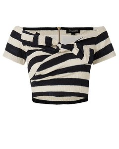 SALONI Top Stripe