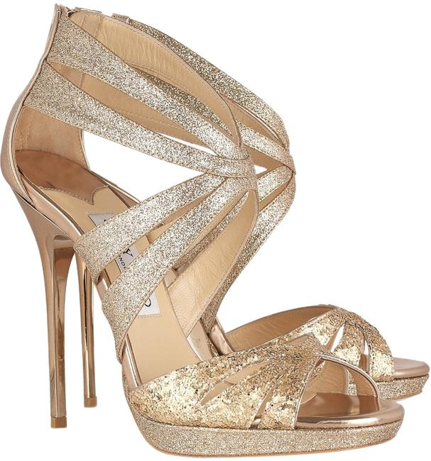 Item - Gold Box Garland Glitter Mix Leather Stiletto 41 New In Formal Shoes Size US 10.5 Regular (M, B)