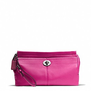Coach Bright Magenta Clutch