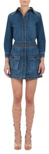 Chloé Chloe Chloe Denim Chloe Denim Denim Mini Mini Skirt Denim Blue