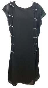 Nina Ricci Black Shift Dress
