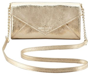Kate Spade Metallic Wallet Cross Body Bag