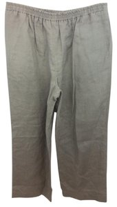 Eskandar Brown Linen Pants