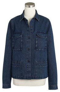 J.Crew Denim Indigo Womens Jean Jacket