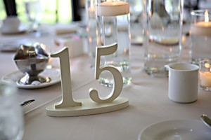 Pearl Table Numbers 1-30