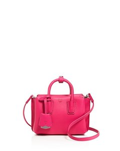 MCM Milla Mini Micro Satchel Messenger Cross Body Bag