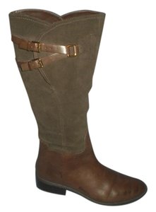 Ralph Lauren Leather Riding Brown Boots