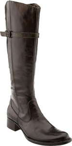 Børn Born Brown Knee High Tall Tan Brush Off Boots