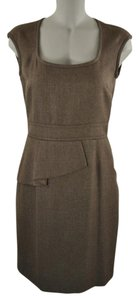 Antonio Melani Herringbone Suit Work Dress