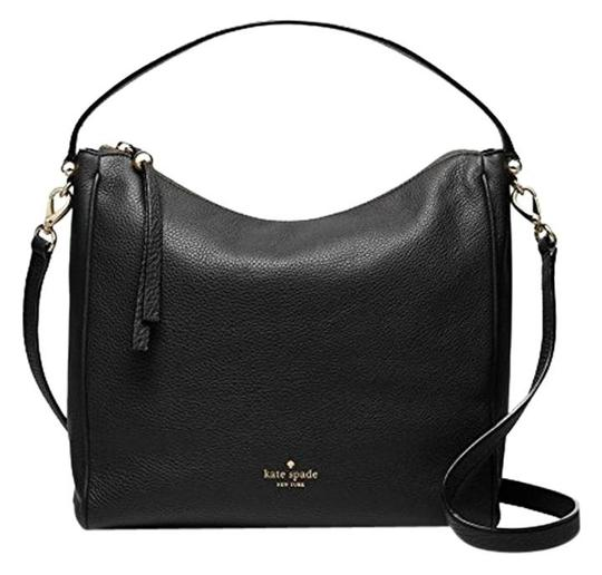 Preload https://img-static.tradesy.com/item/19685707/kate-spade-charles-street-small-haven-cross-body-black-pebbled-leather-hobo-bag-0-0-540-540.jpg