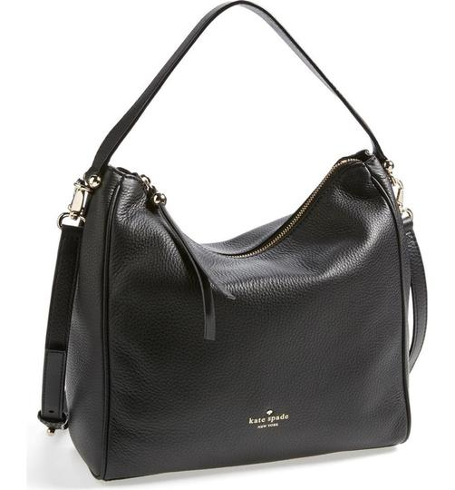 Kate Spade Charles Street Small Heaven Leather Crosbody Hobo Bag Image 1