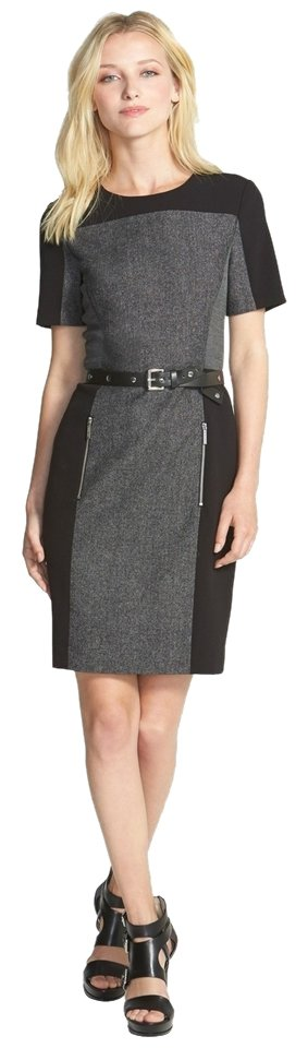 Michael Kors Sheath Belted Dress