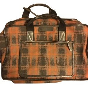 Marc by Marc Jacobs Weekender Plaid Multicolor Travel Bag