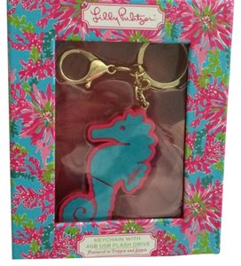 Lilly Pulitzer Lilly Pulitzer Cute Seahorse 4 GB USB Flash Drive Keychain