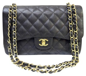 Chanel Caviar Classic Jumbo Shoulder Bag
