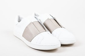 Vince Taupe Leather White Athletic