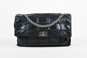 Chanel Leather Patchwork Mademoiselle Chain Shoulder Bag