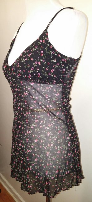 Hot Tempted Don't Be Afraid Spaghetti Strap Top Floral