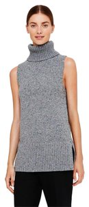 Club Monaco #clubmonaco #chunkyknit #turtleneck #sweathertank #sleeveless Sweater