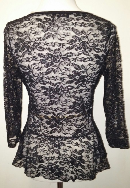 Other Top Black, Silver