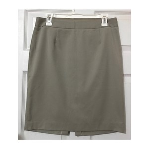 Barneys New York Pencil Skirt Gray