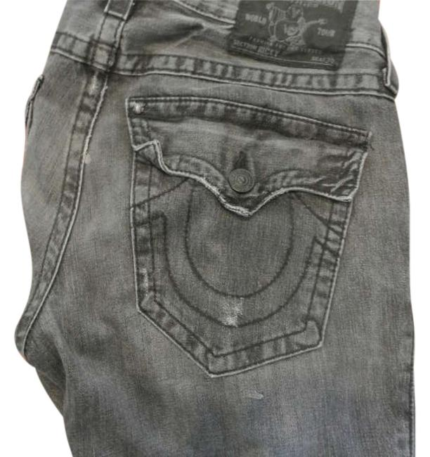 Item - Dark Grey Acid Mens Relaxed Fit Jeans Size 31 (6, M)