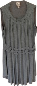 one.september Braided Top Gray