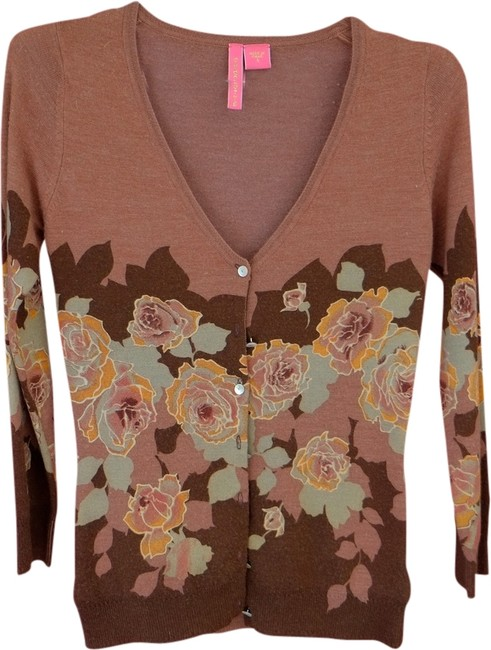 Preload https://item2.tradesy.com/images/charlotte-russe-brown-rose-orange-sweaterpullover-size-4-s-1968826-0-0.jpg?width=400&height=650