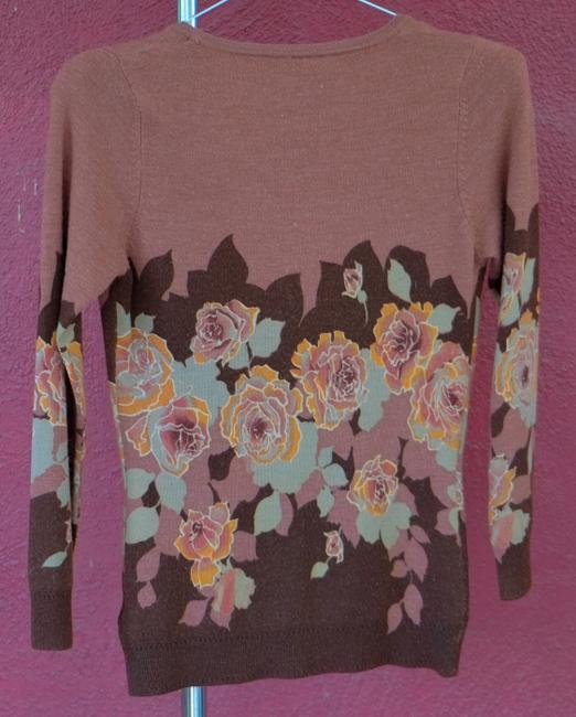 Charlotte Russe Floral Cardigan Sweater