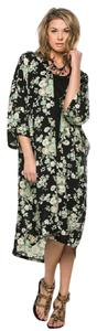 Other Cardigan Coverup Print Floral Kimono Tunic