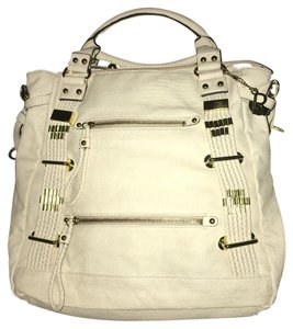 Rampage Ivory City Large Tote in Ivory/cream