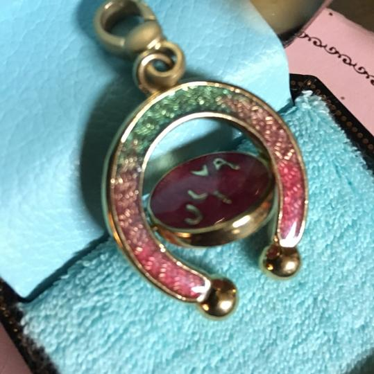 Juicy Couture *SALE* JUICY COUTURE SUPER CRAZY RARE 2004 SPINNING HORSESHOE CHARM! Image 2