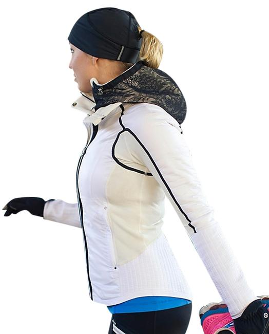Item - White W Bundle Up W/ Reflective Lace Activewear Outerwear Size 4 (S, 27)
