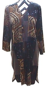 Susan Graver short dress Floral Excellent For Cold Weather on Tradesy