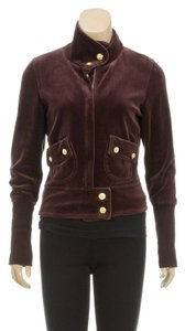 Twisted Heart Brown Leather Jacket