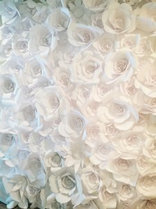 Hand Made Flower Wall - They Sell On Etsy Over 1500