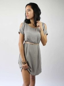 Geren Ford short dress Grey on Tradesy