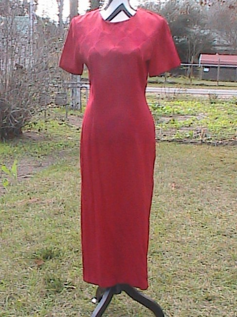 Red Maxi Dress by Scarlett