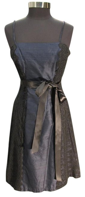 Preload https://img-static.tradesy.com/item/19689534/watters-navyblack-3458-bridesmaid-and-z-short-cocktail-dress-size-10-m-0-1-650-650.jpg