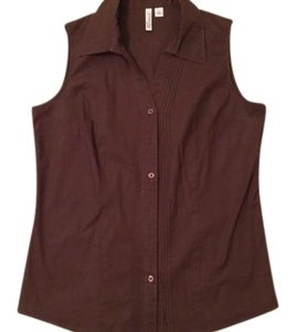 St. John Top Brown