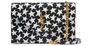 Saint Laurent Leather Star Shoulder Bag