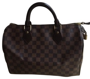 Louis Vuitton Satchel in Brown Damier