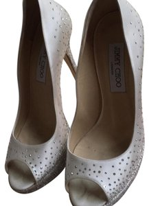 Jimmy Choo Ivory Platforms