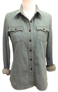 Bridge & Burn Jacket Button Down Shirt Denim