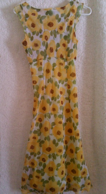 yellow,multicolor Maxi Dress by Free People Sun Sunflower Summer Yellow