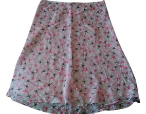 MILLY Skirt Lt. Pink/ asst. Print