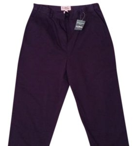 L.L.Bean Capris Navy Blue