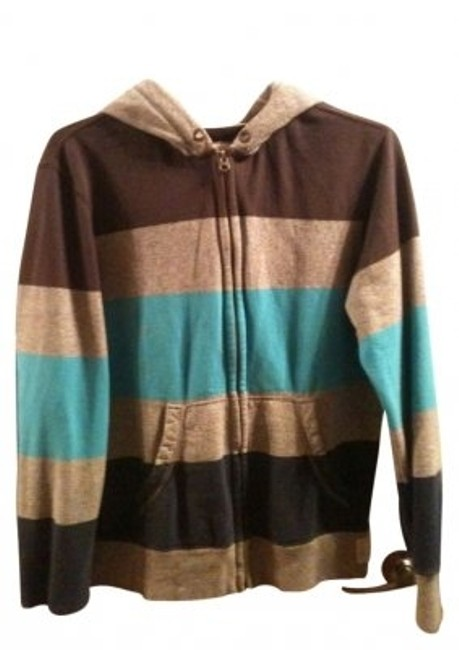 Preload https://item1.tradesy.com/images/american-eagle-outfitters-grey-brown-and-turqoise-sweatshirthoodie-size-14-l-19690-0-0.jpg?width=400&height=650