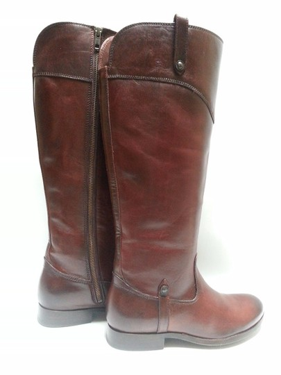 Frye Leather Riding Redwood Boots Image 4