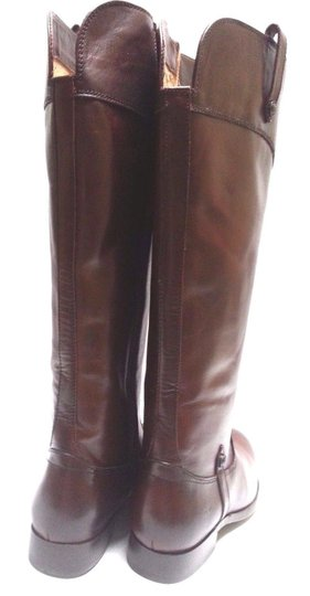 Frye Leather Riding Redwood Boots Image 5